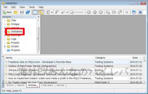 メタエディターでファイルを開く